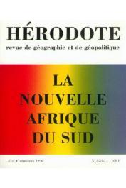 Hérodote 082-083 - La nouvelle Afrique du Sud