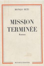 MONGO BETI - Mission terminée