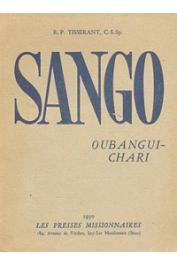 TISSERANT Charles, (R.P.) - Sango, langue véhiculaire de l'Oubangui-Chari