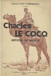 CHARBONNEAU Général Jean - Charles Le Cocq, officier de France