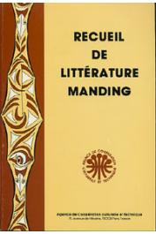 Collectif - Recueil de littérature manding
