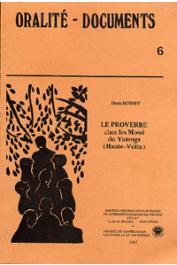 BONNET Doris - Le proverbe chez les Mossi du Yatenga (Haute-Volta)