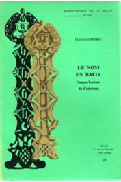GUARISMA Gladys - Le nom en bafia (langue bantoue du Cameroun)