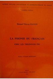 HAGGIS Bernard Murray - La phonie du français chez les trilingues twi