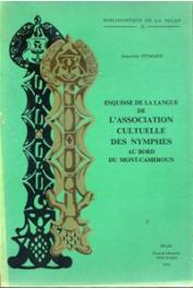 ITTMANN Johannes, MESNIER P. M. - Esquisse de la langue de l'association cultuelle des Nymphes au bord du Mont Cameroun