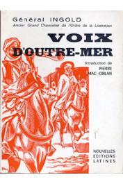 INGOLD François - Voix d'Outre-Mer