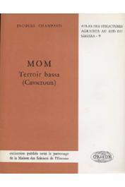 CHAMPAUD Jacques - Mom: terroir bassa (Cameroun)