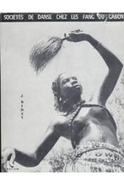 BINET Jacques - Sociétés de danse chez les Fang du Gabon