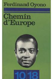 OYONO Ferdinand - Chemin d'Europe (édition 1973)