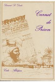 DADIE Bernard Bilin - Carnet de prison 1949-1950