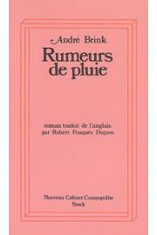 BRINK André - Rumeurs de pluie