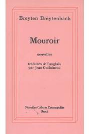 BREYTENBACH Breyten - Mouroir: notes-miroir pour un roman