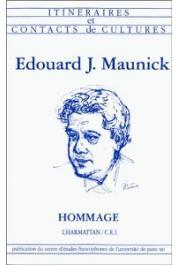 SOPOVA Jasmina, JOUBERT Jean-Louis - Edouard J. Maunick: hommage