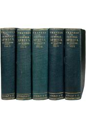 BARTH Heinrich - Travels and Discoveries in North and Central Africa being a Journal of an Expedition undertaken under the Auspice of H.B.M.'s Government in the Years 1849-1855