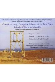 QUINT Laurent - Compère loup, compère lièvre et le Bon Dieu - Lubu ku Xibinhu ku Nhordhés . Conte du Cap-Vert. Bilingue capverdien-français / CD d'accompagnement