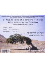 SEMEDO Aires, QUINT Nicolas - Le loup, le lièvre et la sorcière Tia Ganga. Bilingue Capverdien-Français  CD - Verso