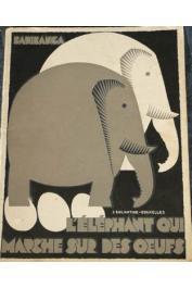 BADIBANGA Thadée, [JADOT Joseph-Marie], DJILATENDO (illustrations) - L'élephant qui marche sur des œufs