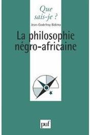 BIDIMA Jean-Godefroy - La philosophie négro-africaine (nouvelle édition)