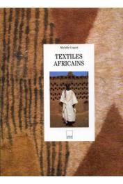 COQUET Michèle - Textiles africains. Couverture de l'ouvrage