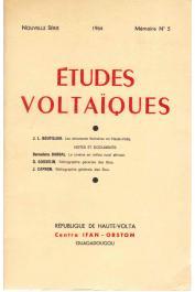 Etudes Voltaïques - Mémoire n° 5