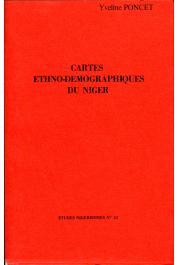 Etudes Nigériennes - 32, PONCET Yveline - Cartes ethno-démographiques du Niger