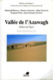 Etudes Nigériennes - 57 / Vallée de l'Azawagh (Sahara du Niger)