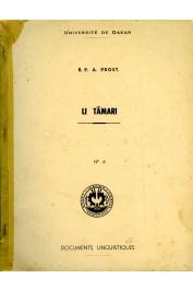 PROST André (R. P.) - Li Tamari