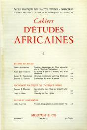 Cahiers d'études africaines - 006