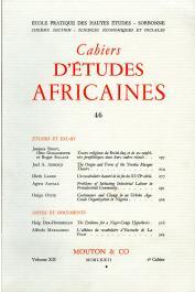 Cahiers d'études africaines - 046