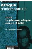 Afrique contemporaine - n° 187 - La pêche en Afrique, enjeux et défis