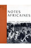 Notes Africaines - 127