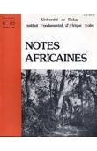 Notes Africaines - 172
