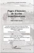 Ouest Saharien - Hors série n° 06 / Pages d'histoire de la côte mauritanienne XVIIe-XVIIIe siècles