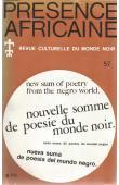 Présence Africaine - 057 - Nouvelle somme de poésie du monde noir