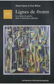 NYELA Désiré, BLETON Paul - Lignes de front. Le roman de guerre dans la littérature africaine