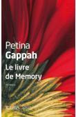 GAPPAH Petina - Le livre de Memory