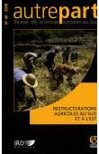 AUTREPART - 46 - Restructurations agricoles au Sud et à l'Est