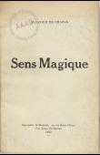 CHAZAL Malcolm de - Sens magique