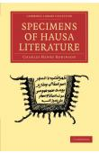 ROBINSON Charles Henry (Rev.) - Specimens of Hausa Literature