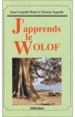 DIOUF Jean Léopold, YAGUELLO Marina - J'apprends le Wolof (livre + 4 cassettes Audio)