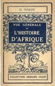 HARDY Georges - Vue générale de l'histoire de l'Afrique
