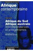 AICARDI de SAINT-PAUL Marc, (sous la direction de) - Afrique du Sud, Afrique australe: interdépendances et antagonismes