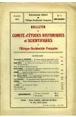 Bulletin du comité d'études historiques et scientifiques de l'AOF - Tome 06 - n°3 - Juillet-Septembre 1923 (BCEHSAOF)